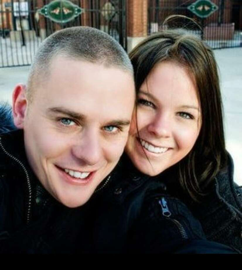 Eric Langlois and his wife. Contributed photo.