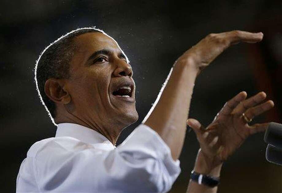 President Barack Obama Photo: AP / AP