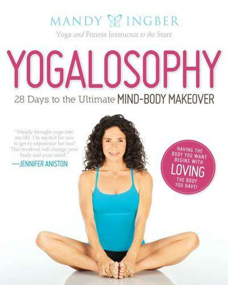 "Celebrity yoga and fitness instructor Mindy Ingber has a new book ""Yogalosophy: 28 Days to the Ultimate Mind-Body Makeover""; at the heart of Ingber's fitness strategy is a simple idea that she's slapped right on the cover: ""Having the body you want begins with loving the body you have."" (Handout photo, June 12, 2013)"