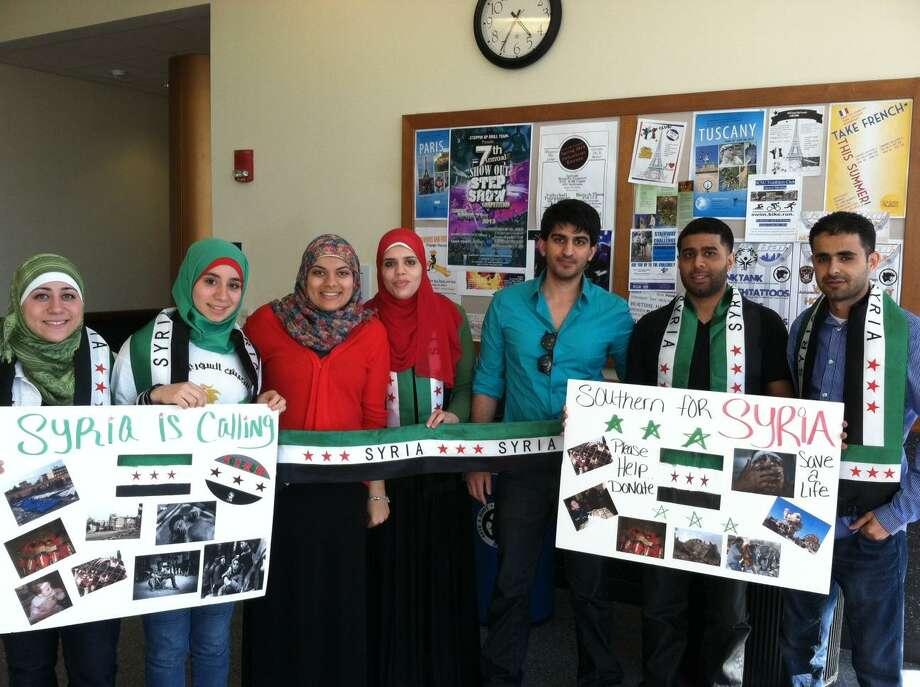 Members of the SCSU Muslim Student Association