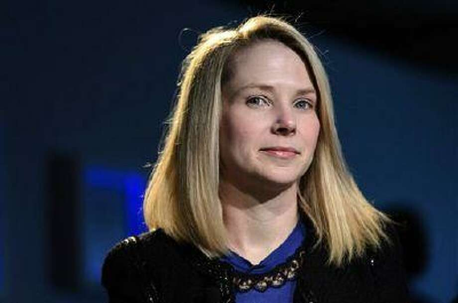 In this Jan. 25, 2013, file photo, Marissa Mayer, CEO of Yahoo!, listens during the 43rd Annual Meeting of the World Economic Forum, in Davos, Switzerland. Yahoo Inc. reports quarterly financial results after the market closes. AP Photo/Keystone/Laurent Gillieron Photo: AP / Keystone