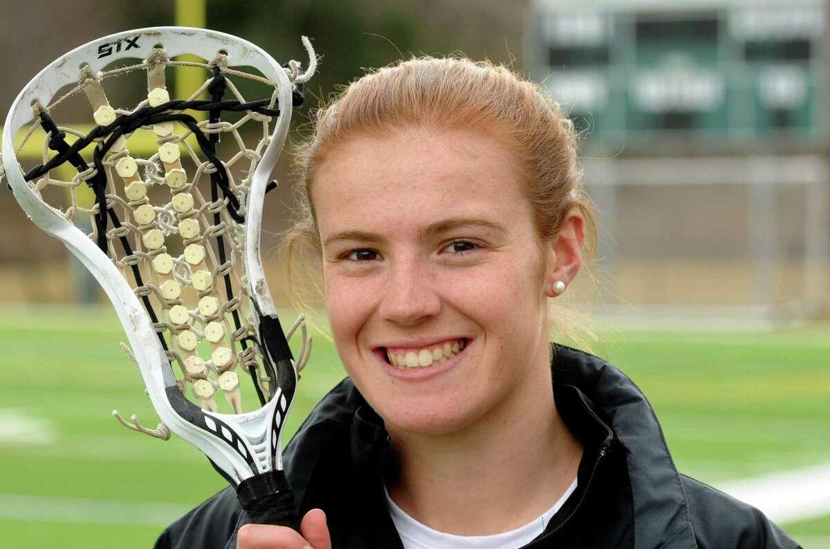 Avery Giorgio and the Hamden Hall girls lacrosse team will host Hopkins next Monday. Mara Lavitt/New Haven Register