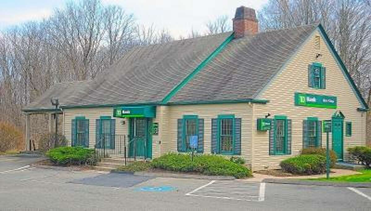 Catherine Avalone/The Middletown Press Police got a report of an armed robbery around 9:27 a.m. Tuesday morning at TD Bank at 331 Main Street in Durham.