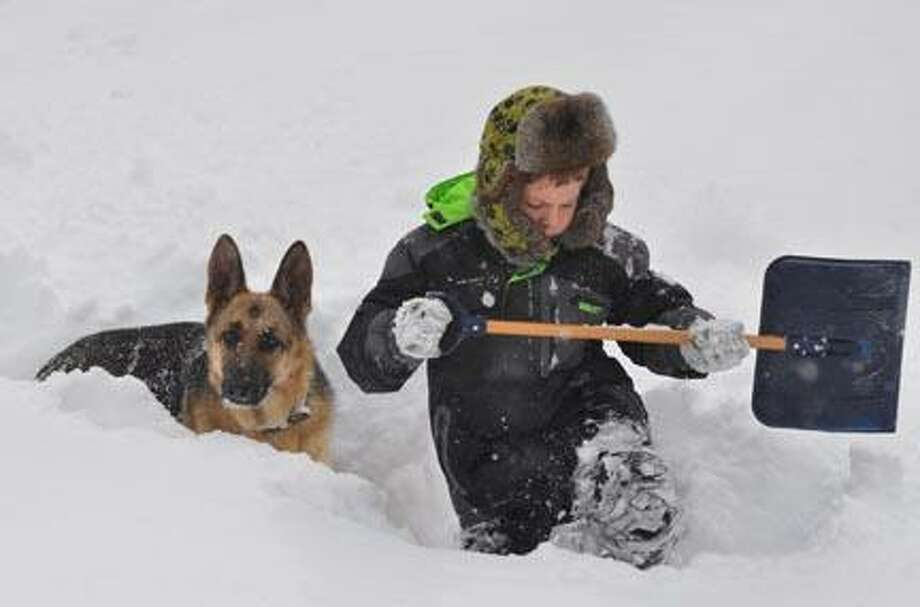 Jason Adams and his dog Bella from Durham (Submitted photo)