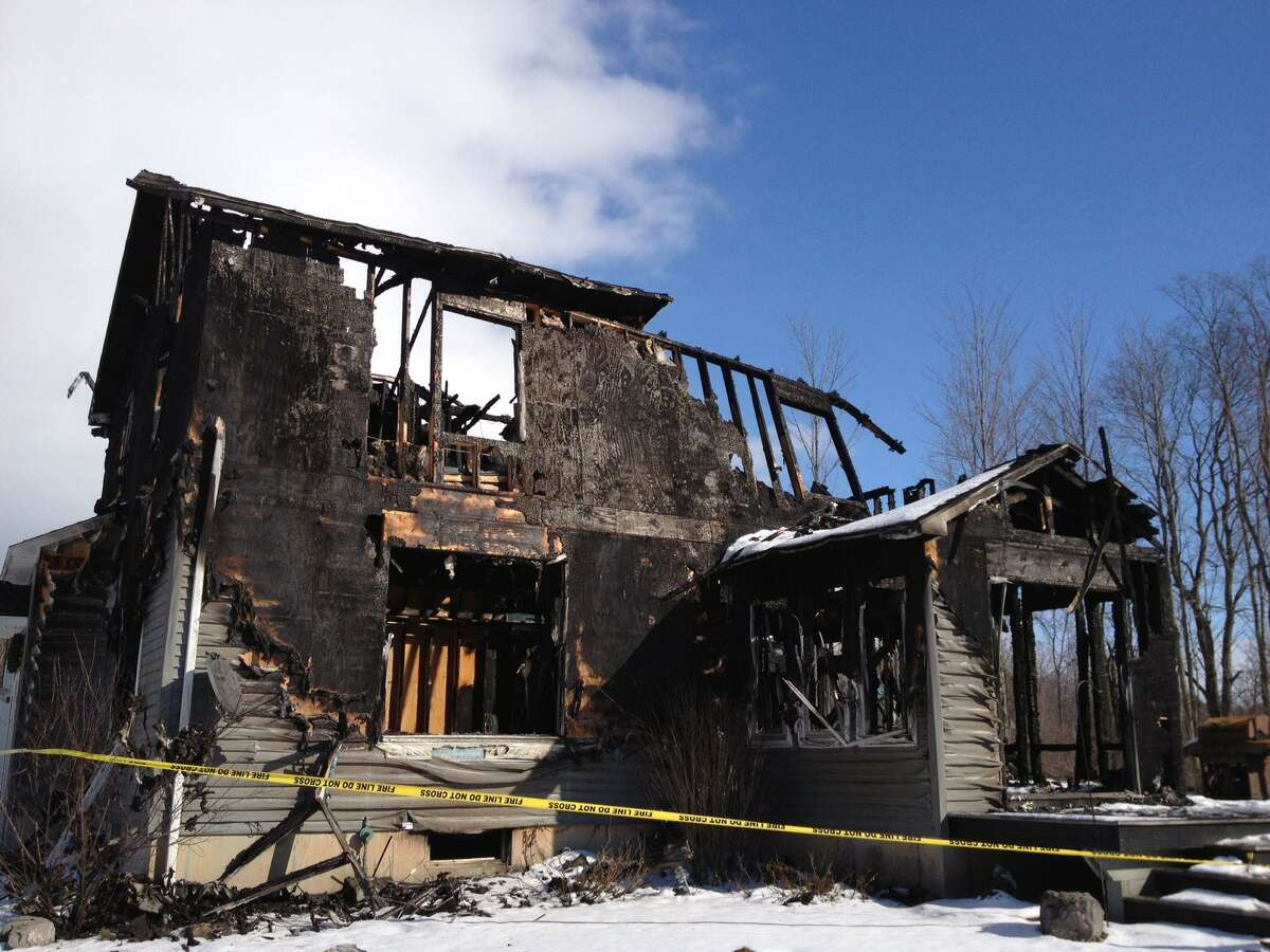 Jolene Cleaver/Oneida Daily Dispatch The back of the house at 4988 Carrick Road, owned by Mike and Deanna Kazlauskas.