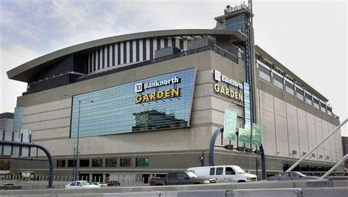 The TD Banknorth Garden is seen Tuesday, March 28, 2006, in Boston. The Garden is the site for the NCAA Women's Final Four basketball semifinals Sunday, April 2, 2006, and the championship game Tuesday night, April 4, 2006. (AP Photo/Michael Dwyer)