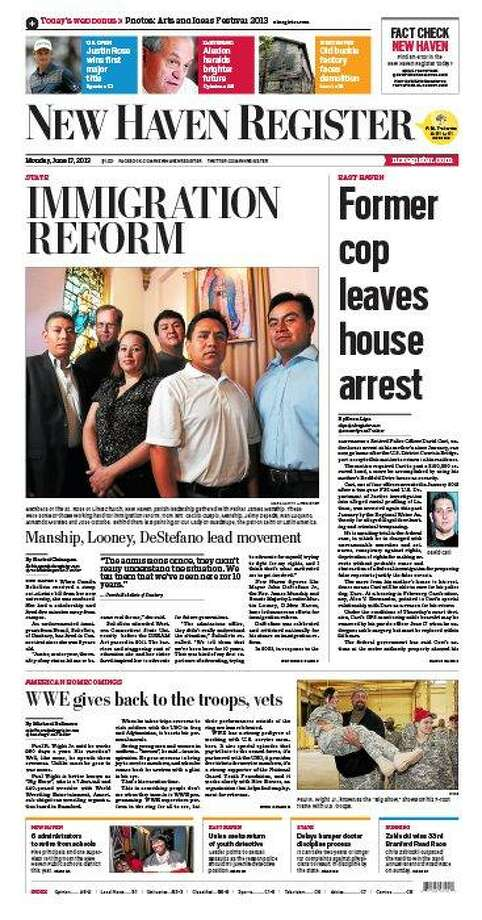 The New Haven Register redesign