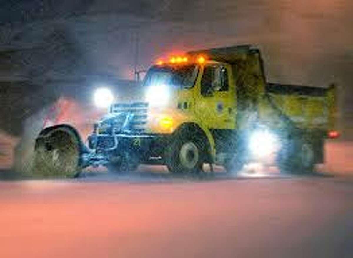 A snowy scene in Orange Friday