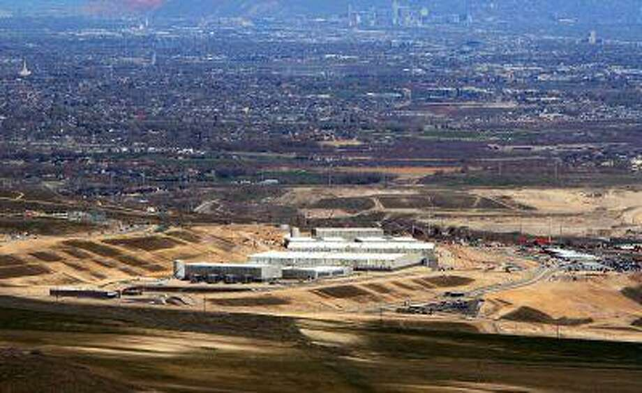 An aerial view of the Utah Data Center is seen in this photo from April 18, 2013. Photo: ALL