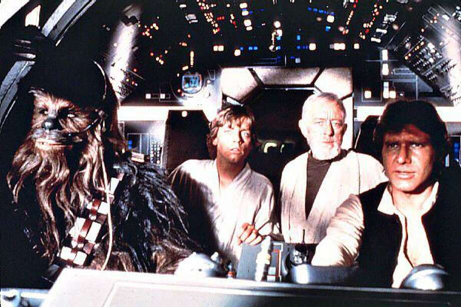 "Approaching the Death Star in ""StarWars Episode IV: A New Hope."" (Lucasfilm) Photo: D"