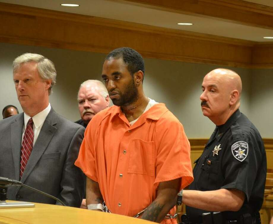 Rachel Murphy/Rome Observer Aaron Welch, 26, of Schenectady was arraigned in Rome City Court Tuesday on murder charges.