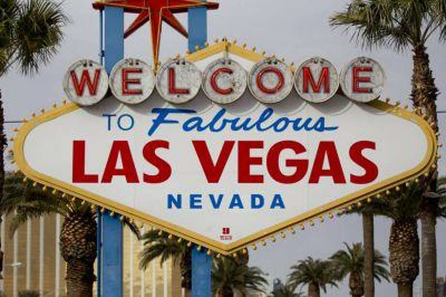 """The """"Welcome to Fabulous Las Vegas"""" sign stands along the Strip in Las Vegas; the city that never lets you sleep turned out to be the perfect destination for a five-day 50th birthday party. (Bloomberg News/Andrew Harrer)"""
