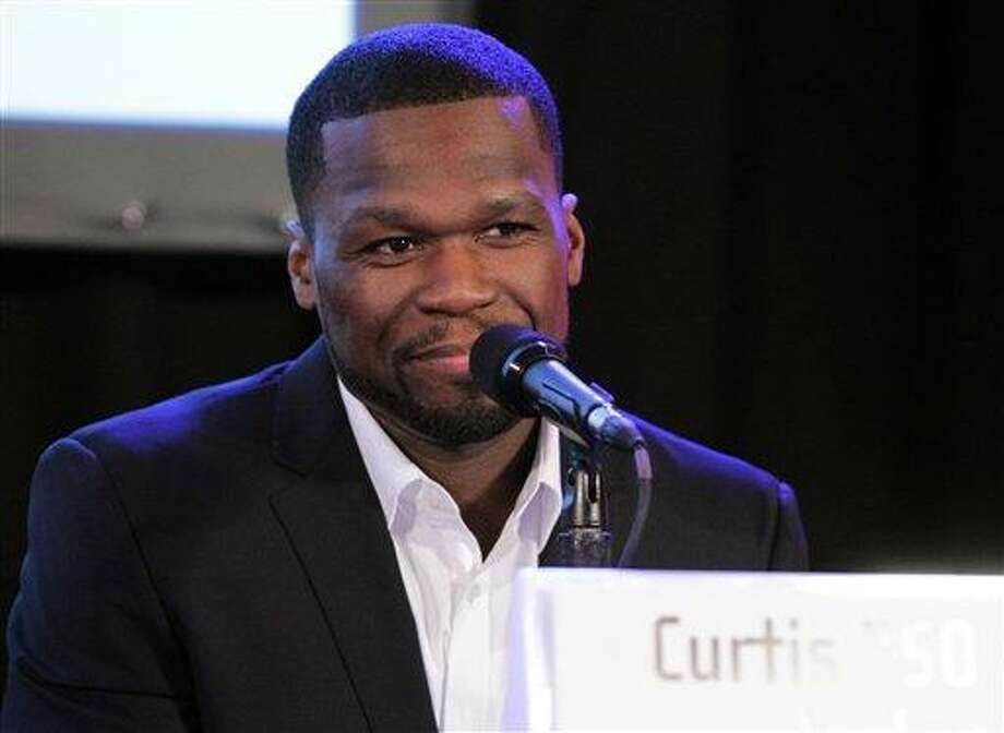 """Curtis """"50 Cent"""" Jackson speaks at the Produced by Conference on Sunday, June 9, 2013 in Los Angeles. (Photo by Sarah Hummert/Invision for Producers Guild/AP Images) Photo: Invision For Producers Guild / Invision"""