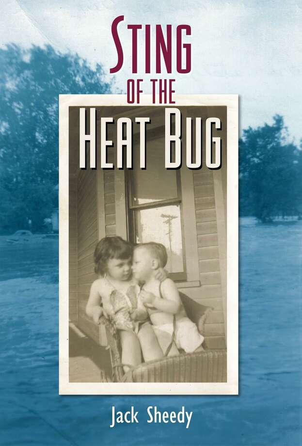 """The cover of Jack Sheedy's book, """"The Sting of the Heat Bug."""""""