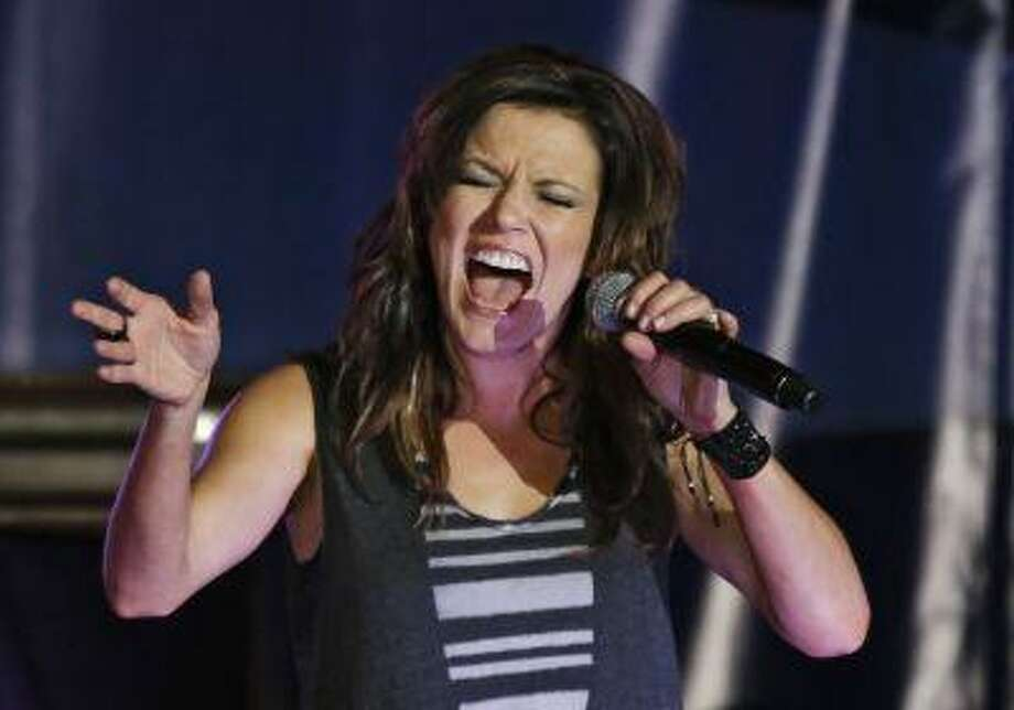 """There's no doubting Martina McBride's prowess at the microphone, but here's something you may not know about the country star: She's pretty handy in the kitchen as well -- so much so that she has been featured on ABC's food-centric show """"The Chew."""" Recently, I talked with McBride by phone about her passion for food. Photo: ASSOCIATED PRESS / AP2013"""