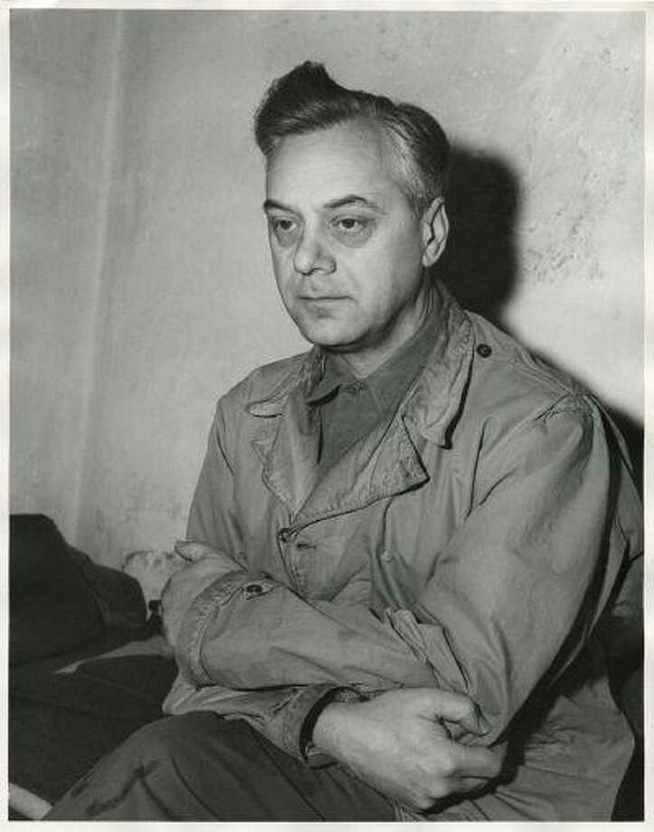 Defendant Alfred Rosenberg, the former Chief Nazi Party Ideologist, sits in his jail cell during the International Military Tribunal trial of war criminals at Nuremberg in this photograph taken by a United States Army Signal Corps photographer in Nuremberg on November 24, 1945. Rosenberg was hanged at Nuremberg after his conviction. Photo: Reuters / X80001