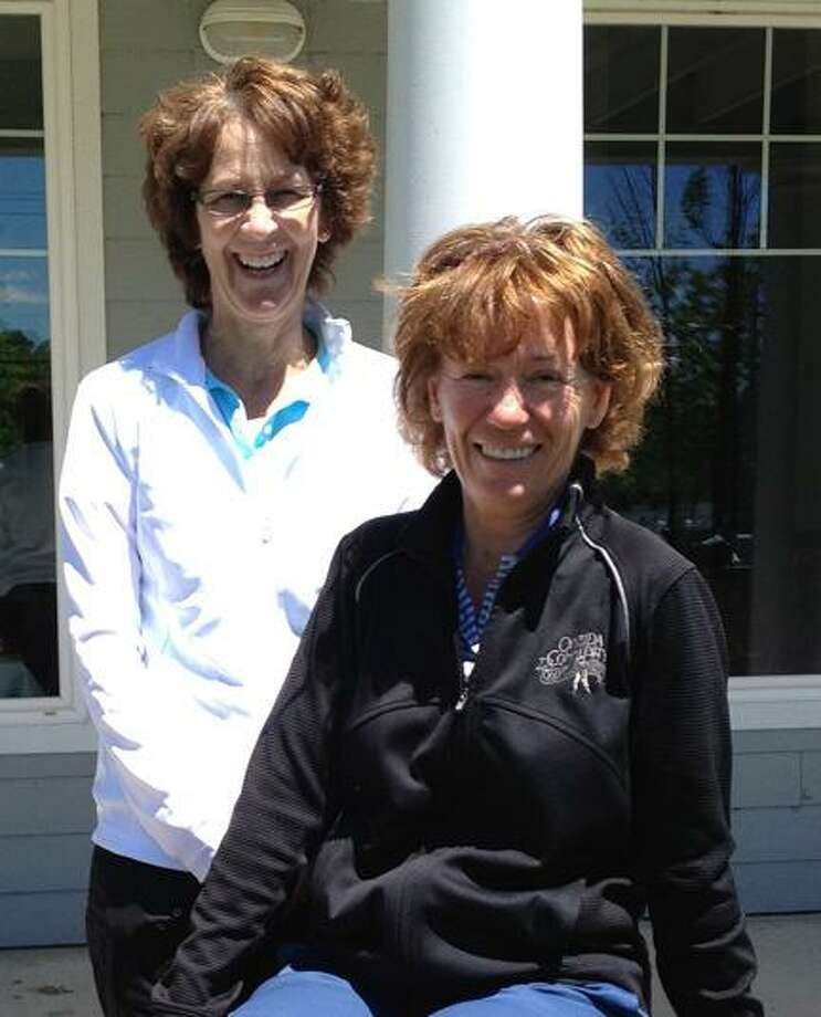 SUBMITTED PHOTO Denise Laube, left, and Linda Vanderhoof.