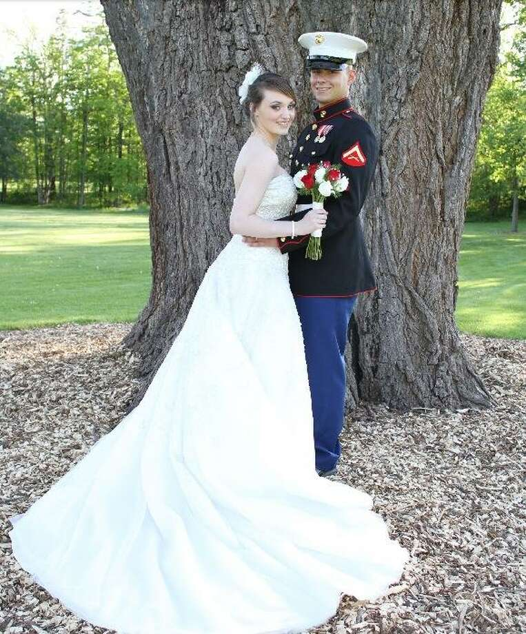 Lance Cpl. Tyler E. and Kelsey Lee (Besock) Reed