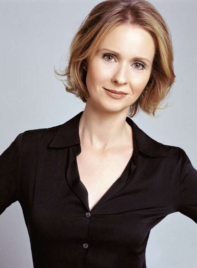 Contributed photo: Actress Cynthia Nixon will receive the inaugural Artists for Equality Award at Yale Feb. 8.