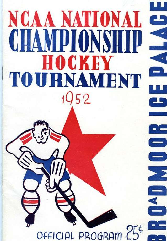 Submitted Photo The program from the 1952 Frozen Four