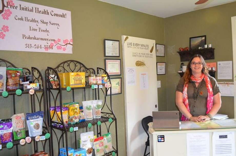Rachel Murphy/Rome Observer Nurse Beth Aust, owner of Peake's Harmony and Wellness on 238 Broad St. in Oneida.