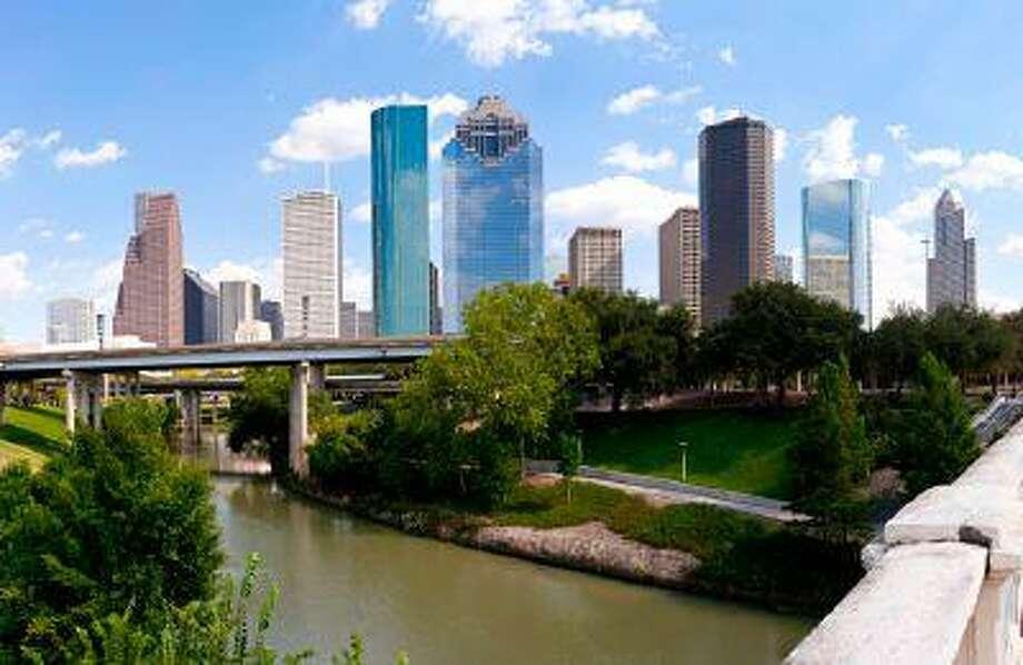 The Houston, Texas, skyline as seen from the Buffalo Bayou Bridge. Photo: Getty Images/iStockphoto / iStockphoto
