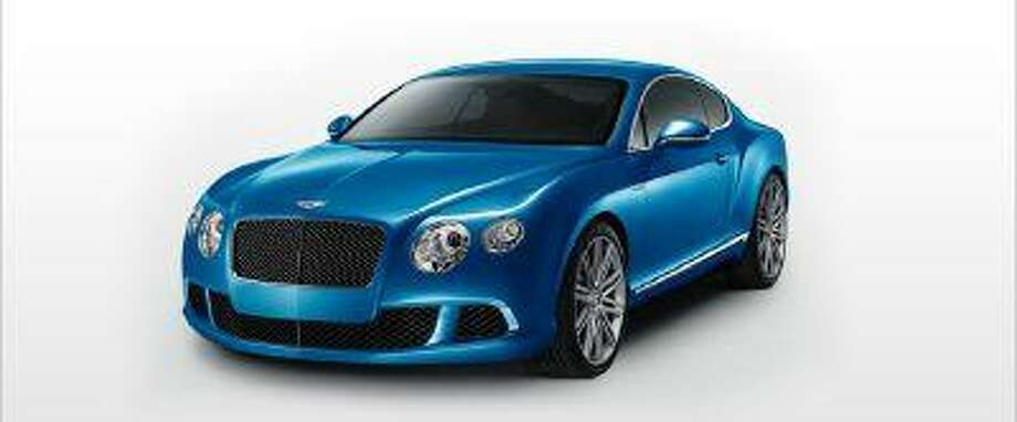 The new Continental GT Speed, with a W-12 engine that can crank out 616 horsepower. (Bentley Motors)