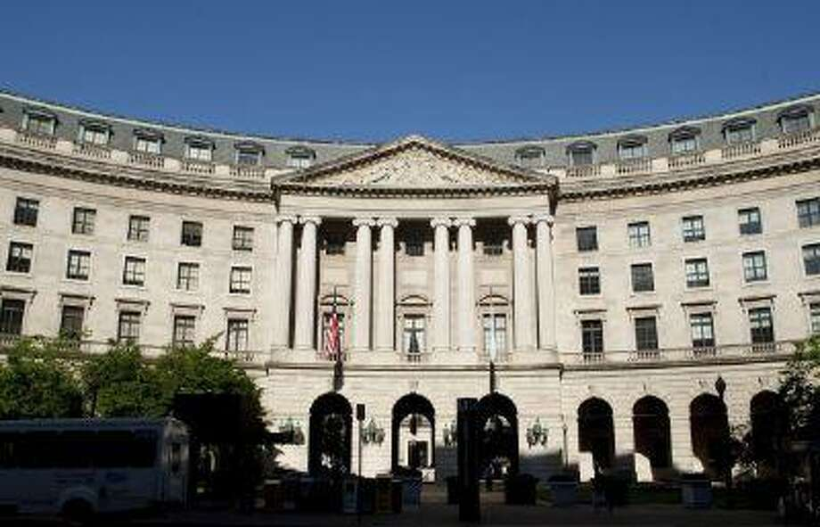 Environmental Protection Agency headquarters in Washington. (Andrew Harrer/Bloomberg)