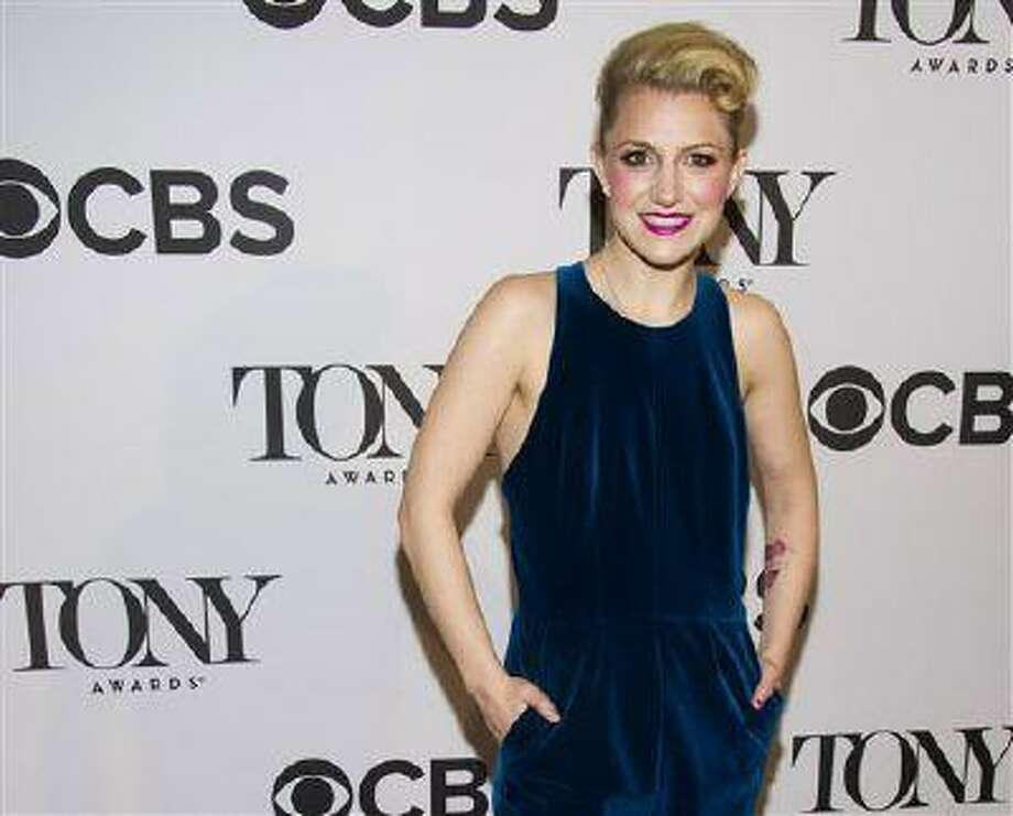 "FILE - This May 1, 2013 file photo shows Annaleigh Ashford at the 2013 Tony Awards Meet the Nominess press reception in New York. Ashford is nominated for a Tony Award for her role in ""Kinky Boots."" (Photo by Charles Sykes/Invision/AP, file) Photo: Charles Sykes/Invision/AP / Invision"