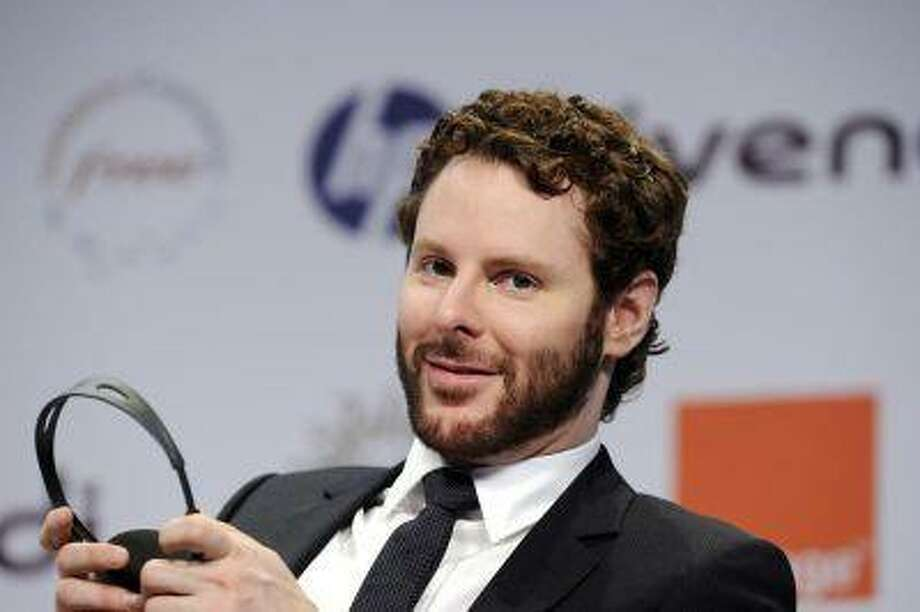 Sean Parker attends the eG8 forum in Paris May 25, 2011. REUTERS/Gonzalo Fuentes / X02443