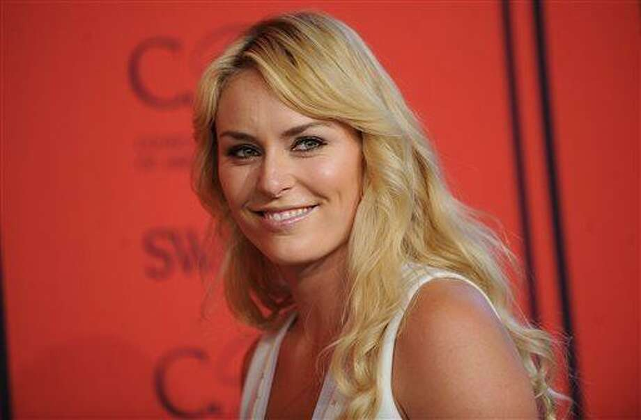 World Cup alpine ski racer Lindsey Vonn arrives at the 2013 CFDA Fashion Awards at Alice Tully Hall on Monday, June 3, 2013 in New York. (Photo by Brad Barket/Invision/AP) / 2013 AP