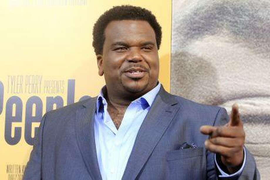 "Actor Craig Robinson, one of the stars of the new film ""Peeples"" produced by Tyler Perry arrives at the film's premiere in Hollywood May 8, 2013. Photo: REUTERS / X00224"