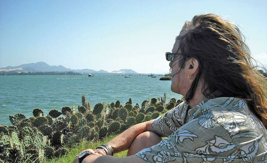 Submitted photo. -- Shrdlu looking across Cam-rahn Bay in Vietnam in early 2009, one of his favorite photos.