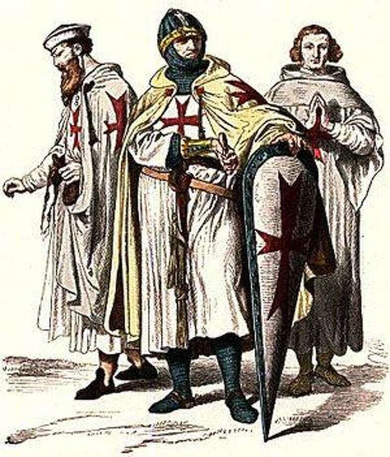 This is how the devout, medieval Knights Templar looked.