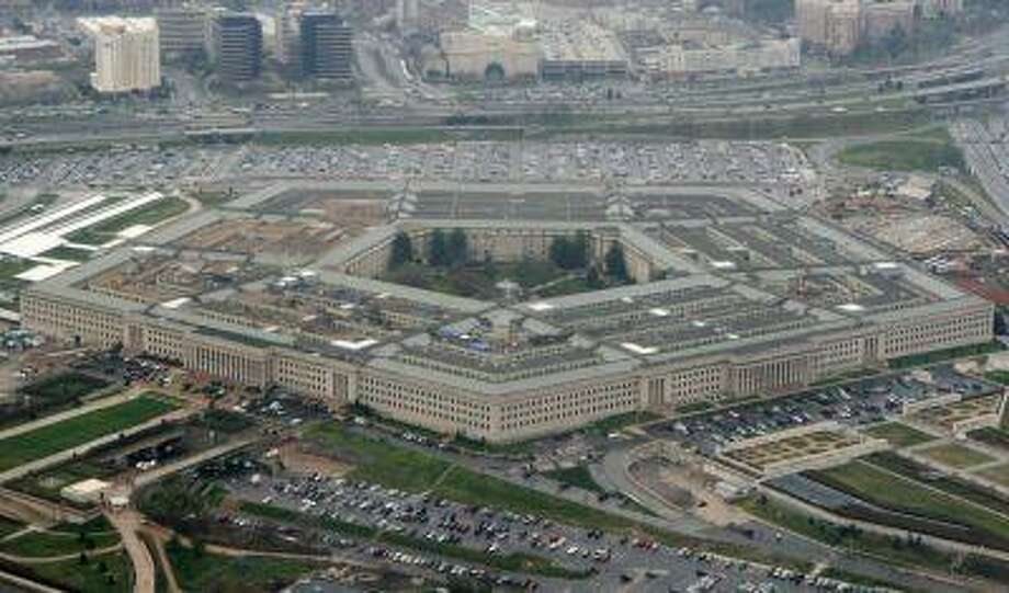 The Pentagon is seen in this aerial view in Washington, in this March 27, 2008 file photo. Photo: ASSOCIATED PRESS / AP2008