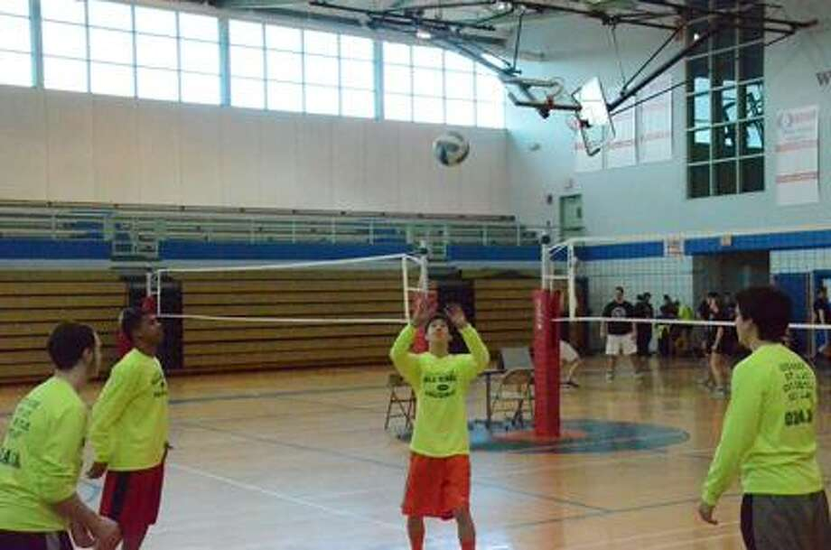 Nick Will @DispatchNick on Twitter/Oneida Daily Dispatch Varsity volleyball students from Canastota make up the Killing it for Cancer team, who helped raise money to combat cancer.