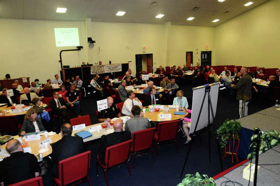 Over 100 people attended a crisis workshop last week, hosted by a number of agencies.