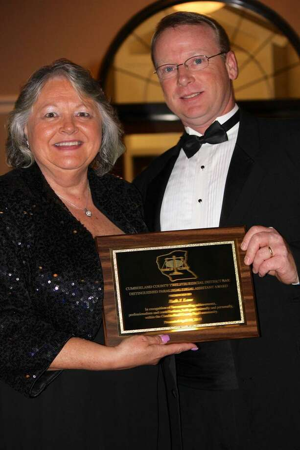Photo Courtesy Ruth Lane Ruth (Wall) Lane, formerly of Verona, N.Y. receives the first ever Distinguished Paralegal/Legal Assistant Award.