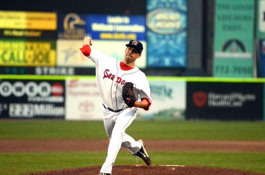 Portland Sea Dogs pitcher Matt Barnes of UConn. (Jim Allen/Special to the Register)