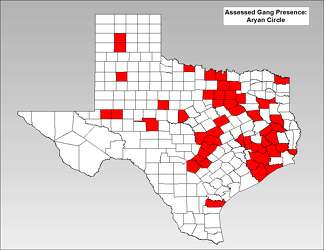 Map: Where Texas' most significant gangs, criminal groups