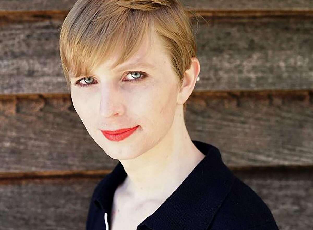 """(FILES) This file photo taken on May 18, 2017 shows an Instagram account screen capture portrait of transgender former soldier Chelsea Manning which she posted one day after being released from a top-security US military prison. President Donald Trump announced July 26, 2017 that transgender people may not serve """"in any capacity"""" in the US military, citing the """"tremendous medical costs and disruption"""" their presence would cause.In late June, Pentagon chief Jim Mattis delayed for six months a plan put in place under Barack Obama's administration to start accepting transgender recruits. Perhaps the most famous transgender US soldier is former Army intelligence analyst Chelsea Manning, who served seven years in prison for one of the largest dumps of classified documents in US history. Manning, who served as Bradley Manning, was initially sentenced to 35 years in prison in 2013 for leaking more than 700,000 classified documents to WikiLeaks three years earlier. / AFP PHOTO / BALESTRAMEDIA / HOHO/AFP/Getty Images"""