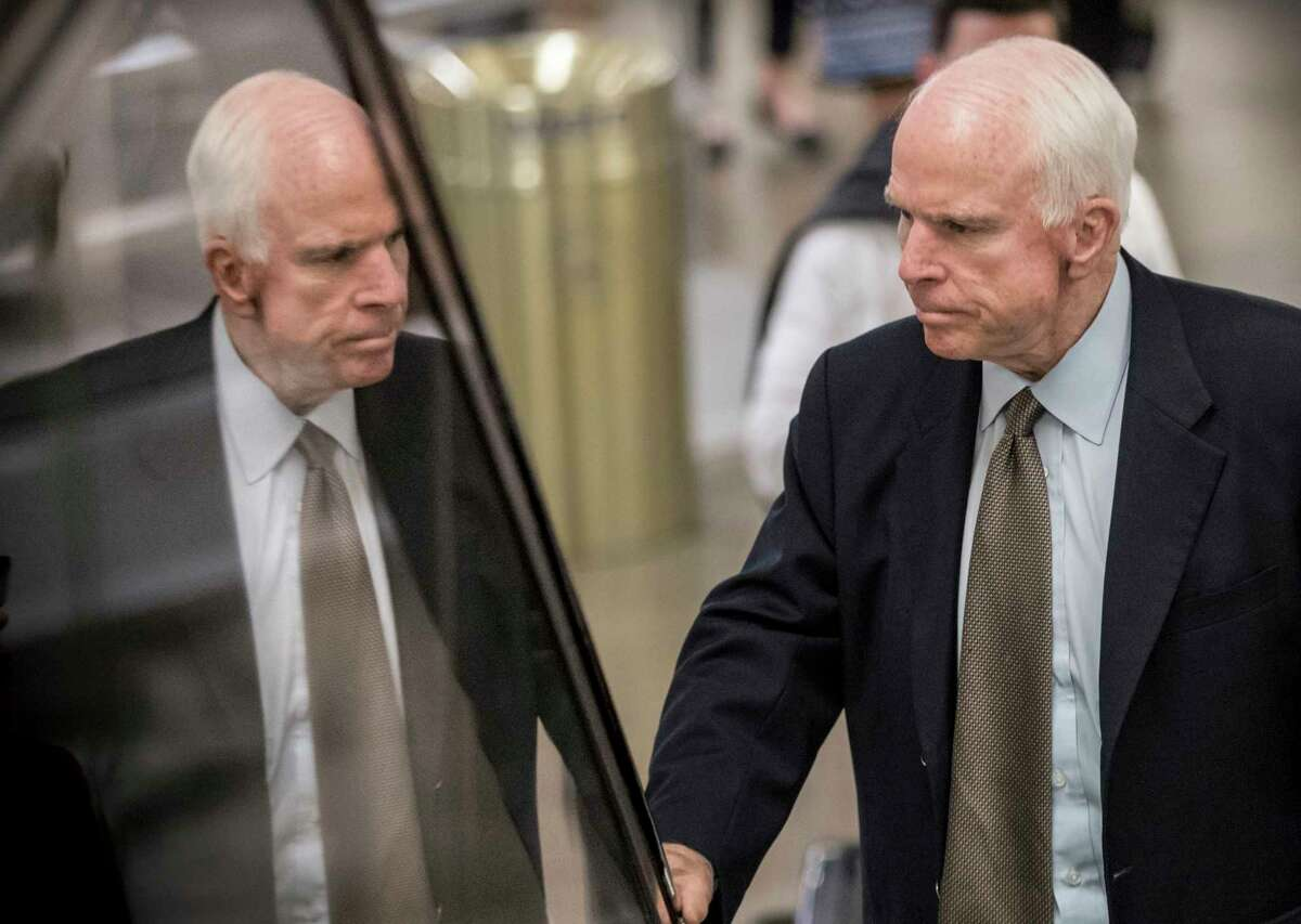 Sen. John McCain was diagnosed with glioblastoma earlier this month. Some Vietnam veterans believe the brain cancer is caused by Agent Orange exposure.