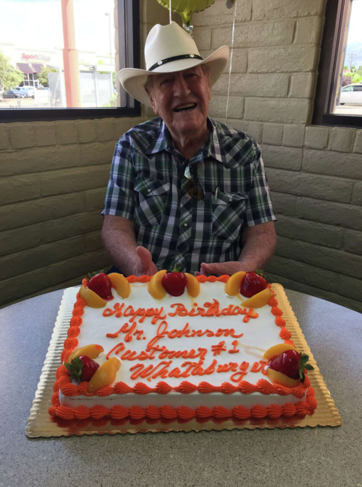 East Texas Whataburger celebrates their number one customer who has found solace in the restaurant's company since his wife died.