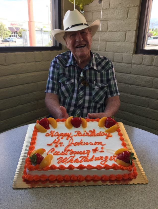 Birthday Cakes For Dogs In Houston Tx ~ Texas whataburger surprises longtime customer with a