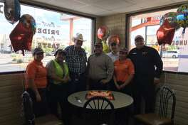 Whataburger helped turn Ed Johnson's 80th birthday into a unforgettable event.