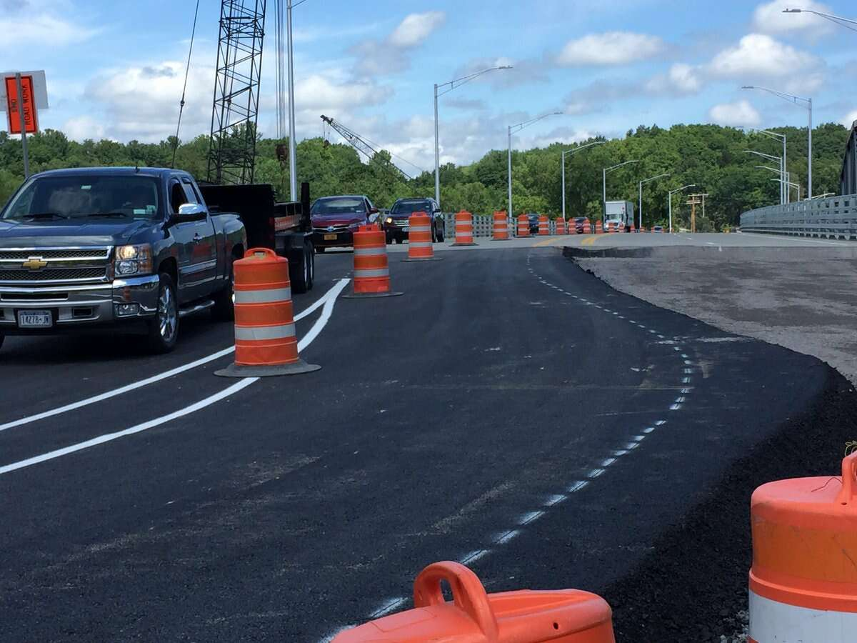 The Rexford Bridge that links Saratoga and Schenectady counties opened to southbound traffic Wednesday morning. The state Department of Transportation says the northbound side should be open by the end of the week.