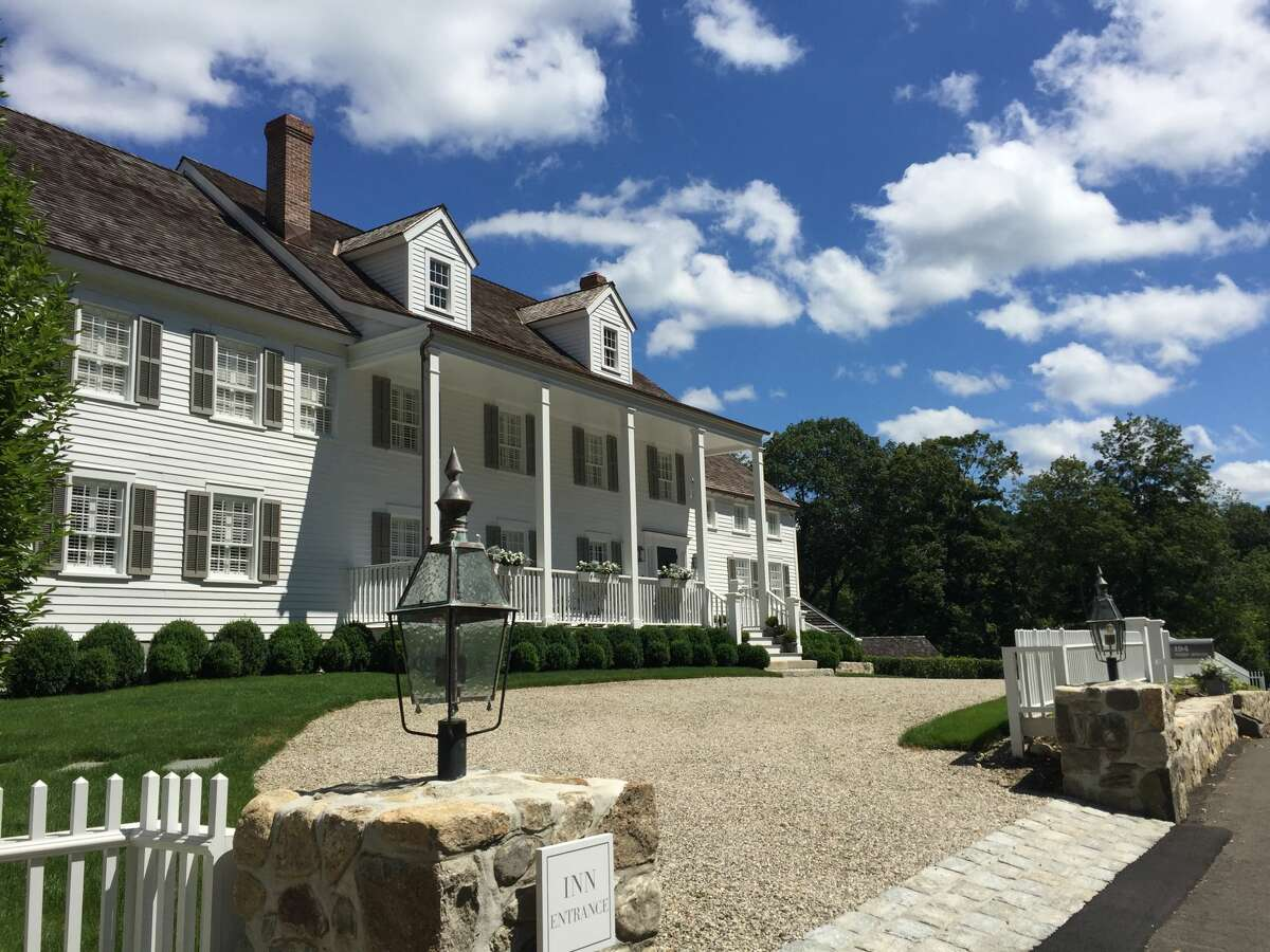 The inn at GrayBarns on the Silvermine River in Norwalk, Conn. on July 26, 2017.