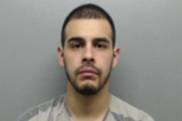 Arnoldo Rosas, 25, was arrested on a possession of marijuana charge.