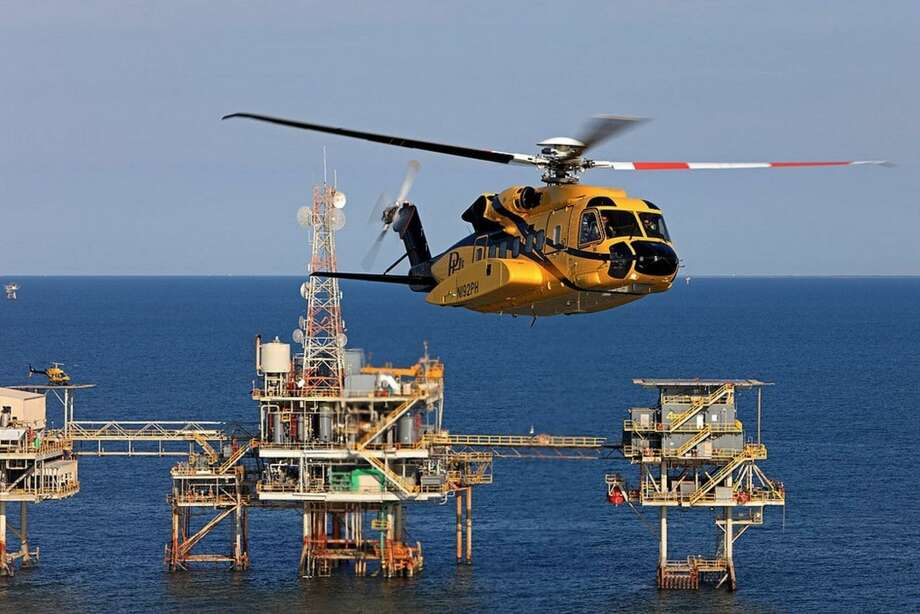 A file photo of a Sikorsky S-92 helicopter operated by PHI. (Photo via PRNewswire)