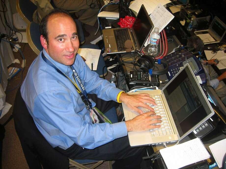 Doug Sovern, of KCBS, is slated for induction. Photo: KCBS
